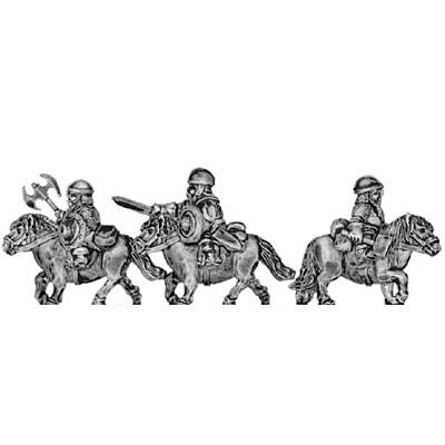 Dwarf cavalry, with blade