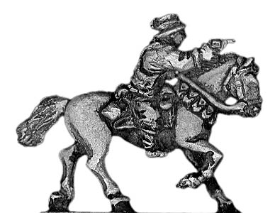 Australian Light Horse officer, mounted