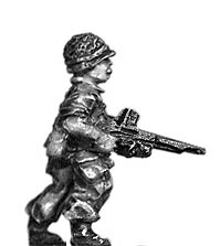 Legionnaire in helmet with FM24/29 LMG
