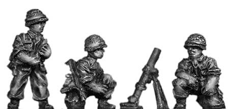 Legionnaire 80mm Mortar team in helmet