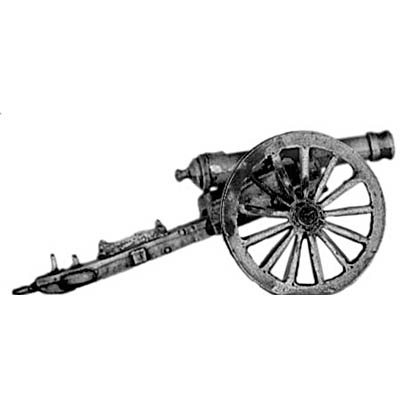 US M1841 6lb cannon