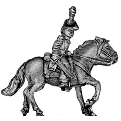 Mexican mounted senior officer