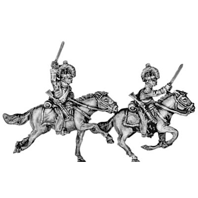 Mexican 1st Cavalry with sword