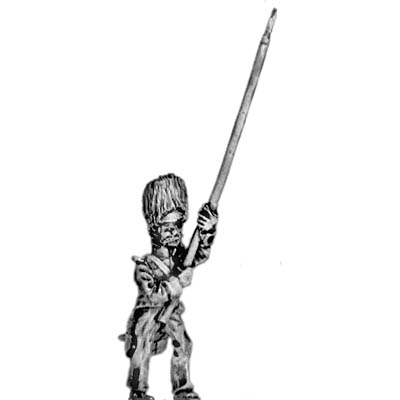Mexican Grenadier of the Supreme Power Standard Bearer