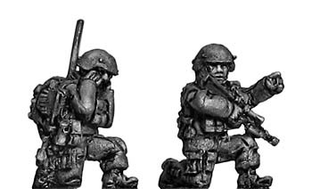 Australian command team kneeling
