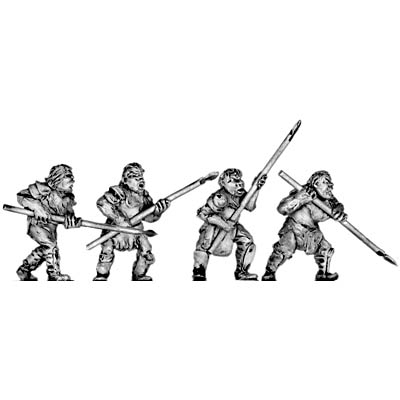 Man-Orc light infantry with spear