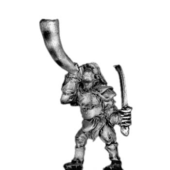 Man-Orc light infantry musician