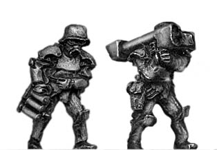 Sci-Fi German Stormtrooper team with LAW