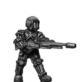Ventauran trooper with Section Automatic Weapon