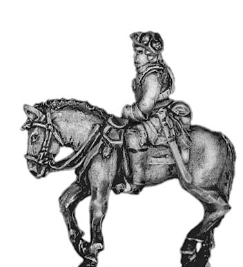 Prussian Cuirassier officer