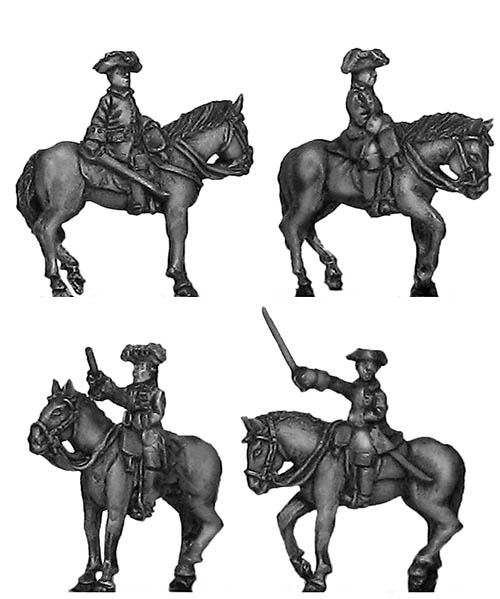 Russian mounted general staff