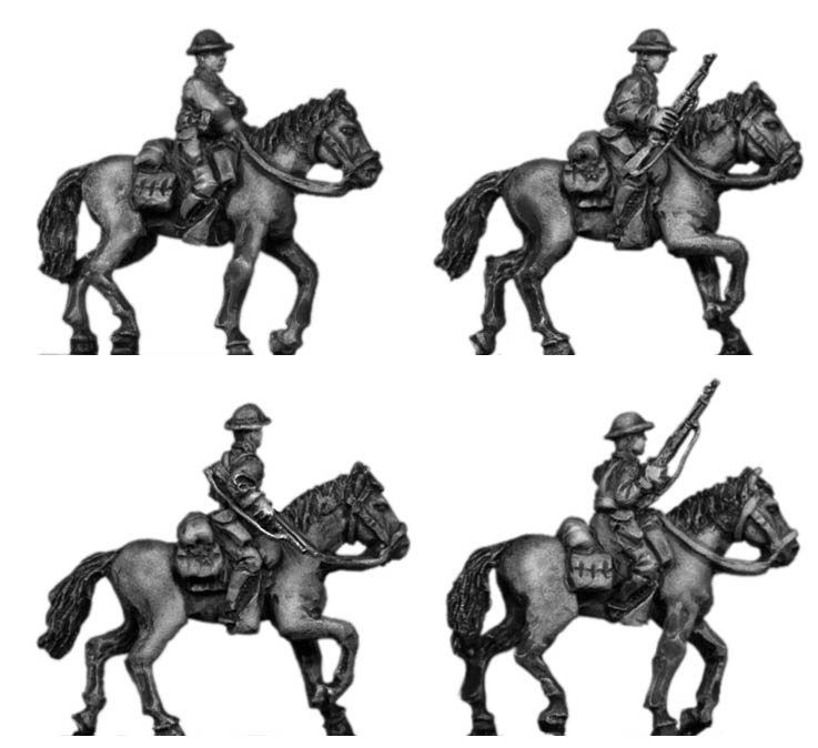 1941 US Cavalry mounted