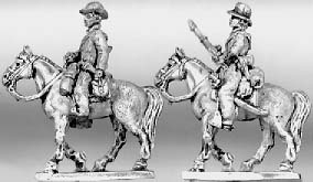 Confederate cavalry with carbine