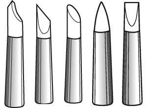 Sculpting 5 tool set: Firm heads