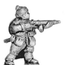 Skirmisher, with handgun