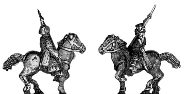 Cavalry with spear