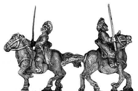 Light cavalry with lance/bow