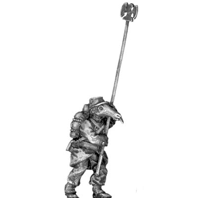 French anteater standard bearer