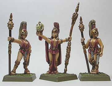 Dark Temple High Priestess & Acolytes