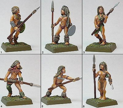 Tribal Spear Warriors