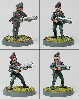 Politburo Elite Guard Troopers